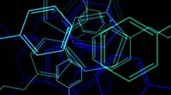 Molecule - Phenethylamine - stock footage