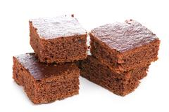 Sweet chocolate dessert Stock Photos