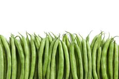 Bean pods background Stock Photos