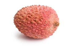 Stock Photo of tasty litchi fruit