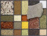 Stock Photo of various spices