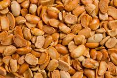 Roasted soya beans background Stock Photos