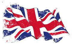 Stock Illustration of Grange Flag of UK