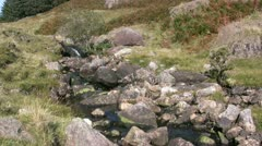 Bleamoss Beck in the English Lake District Stock Footage