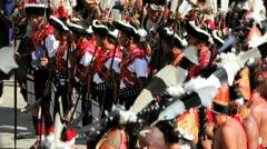 Chakhesang tribe, Nagaland, India Stock Footage