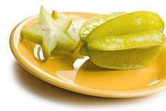 carambola fruit - stock photo