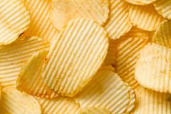 Stock Photo of potato chips