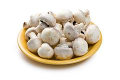 Button mushrooms Stock Photos