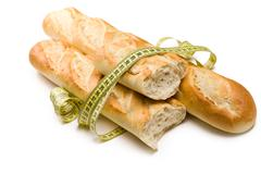 french baguettes - stock photo