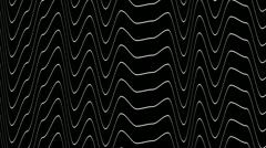 Stripe wave noise with alpha Stock Footage