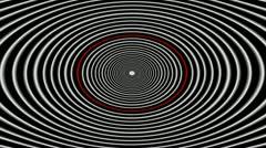 Hipnotic Lines - 014 VJ Loops Stock Footage