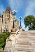 Parliament of canada in ottawa Stock Photos
