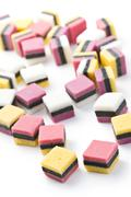 liquorice confectionery - stock photo