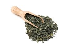 Stock Photo of green tea leaves