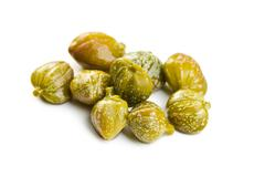 Green capers Stock Photos