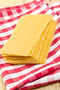 Stock Photo of lasagne sheets