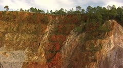 Mining - Rio Tinto - Spain Stock Footage