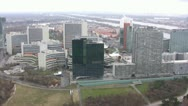 Financial Business District of Vienna (Wien) Stock Footage