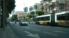 Allenby Street, Tel Aviv Stock Footage