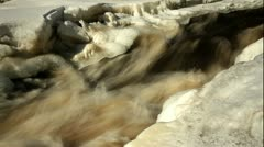 ND filter water stream 7 Stock Footage