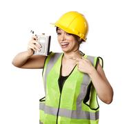 Alcohol safety woman Stock Photos