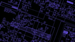 Printed circuit board 006 Vj rotate Srobe Stock Footage