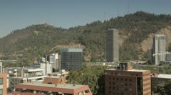 Santiago chile Stock Footage