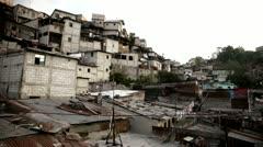 Guatemala Ghetto Stock Footage