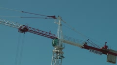 Crane - stock footage