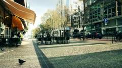 EUROPE STREET CITY LISBON Stock Footage