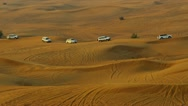Stock Video Footage of Tourism Desert Safari Dubai Sand Dunes