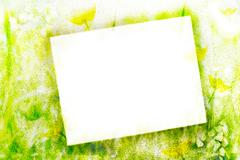 airbrush abstract - stock photo