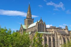 Glasgow cathedral Stock Photos