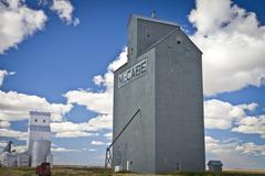 Montana Elevators - stock photo