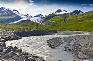 Stock Photo of glacial river