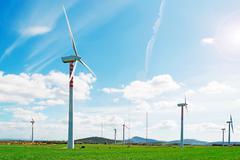 windpower - stock photo
