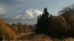 Mount Shasta Stock Footage