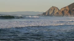 Montara Beach California - stock footage