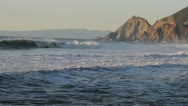 Stock Video Footage of Montara Beach California