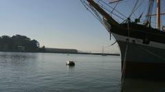 Sailing Ship Balclutha Stock Footage
