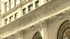 American express company building Stock Footage