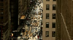 New York City Traffic Time-lapse - stock footage