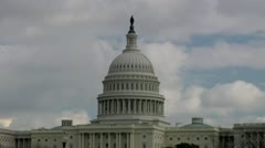 Capitol Hill Building Time-Lapse  - stock footage