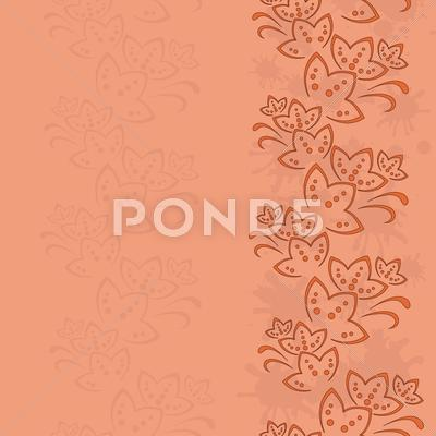 Stock Illustration of Abstract flower background