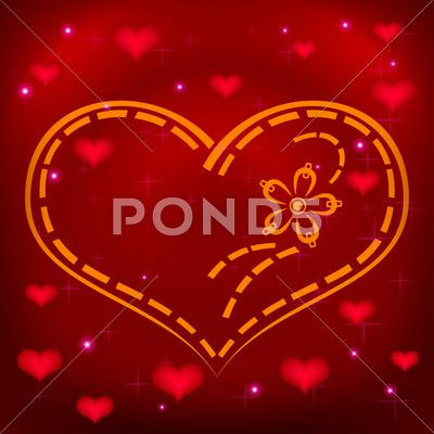 Stock Illustration of Valentine heart