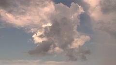 Cloud Timelapse Stock Footage