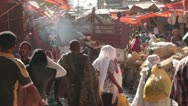 Stock Video Footage of The Mercato, Ethiopia, Addis Ababa, Open Air Market, Africa