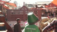 Stock Video Footage of Third world Market, The Mercato, Ethiopia, Addis Ababa, Open Air Market, Africa