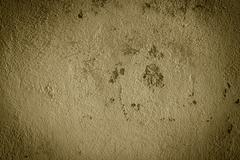 sepia wall texture grunge background - stock photo