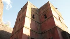The Church of Saint George Lalibela, Ethiopia, Africa Stock Footage
